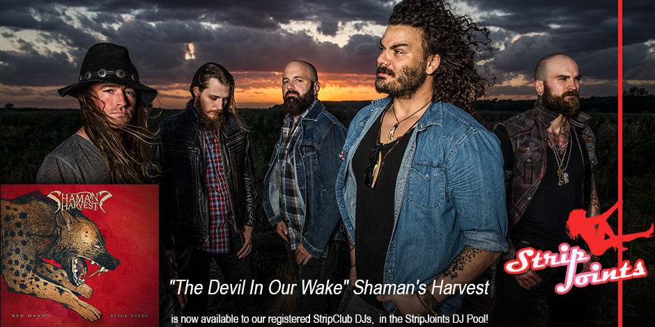 "Shaman's Harvest ""The Devil In Our Wake"""