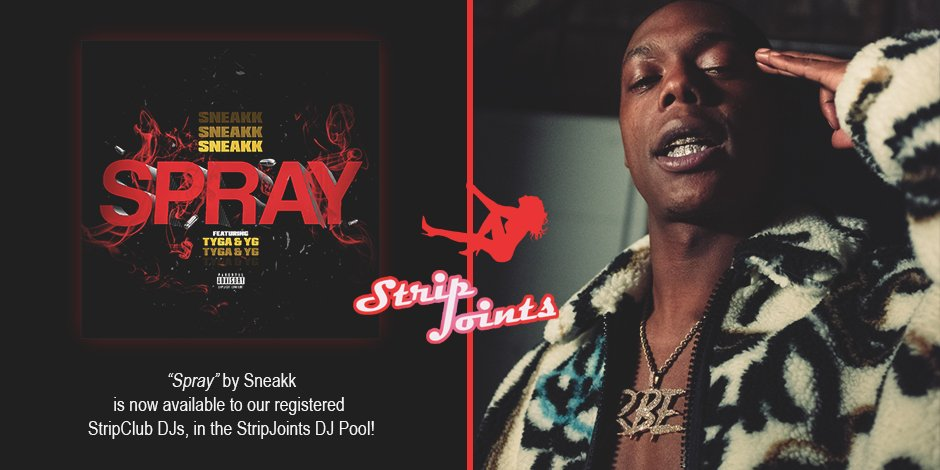 "Sneakk – ""spray"""