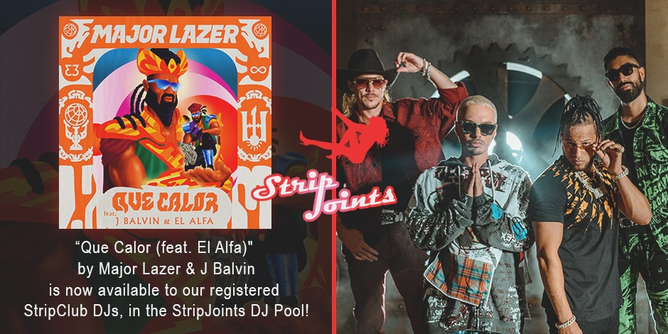 "Major Lazer & J Balvin – ""Que Calor (feat. El Alfa)"""